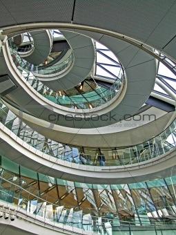 Circular stairway