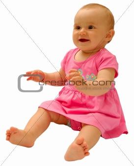 Small beautiful baby
