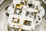 close up clockwork
