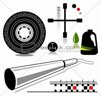 auto icons (VECTOR)