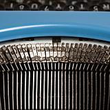 Typewriter typebars.