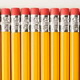 Row of pencils.