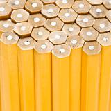 Unsharpened pencils.