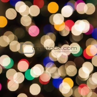 Abstract blurred lights.