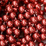Red beads.