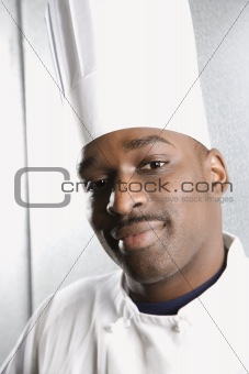 Head shot of chef.