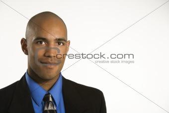 Portrait of man.