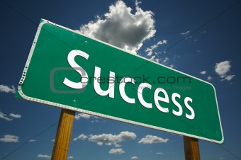 """Success"" Road Sign"