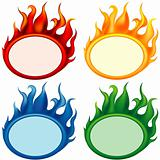 Fire-banners