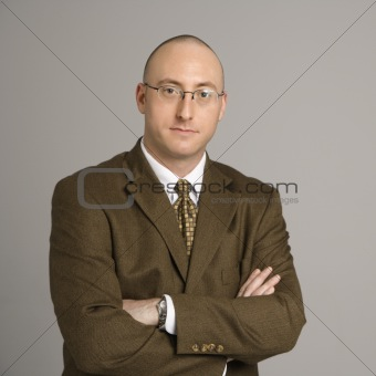Portrait of businessman.