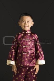 Asian boy.