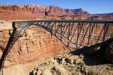 Navajo Bridge, Spanning Marble Canyon, Arizona, USA