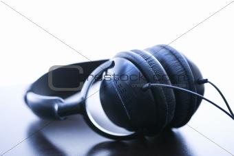 Audio headphones.