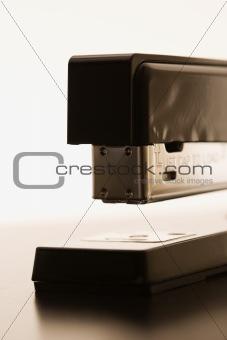 Close up of stapler.