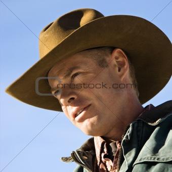 Portrait of cowboy.