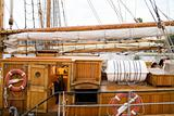 cabin of big sailing ship