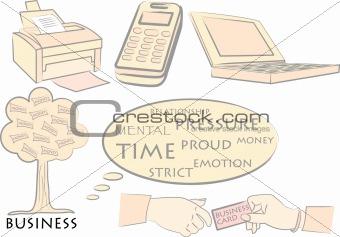 Business motif