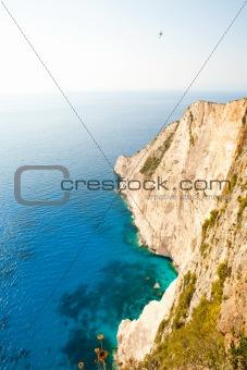 Beautiful coastline in Greece
