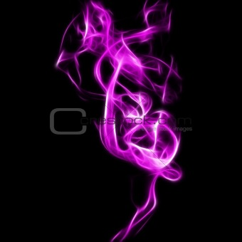 Abstract smoke fractal