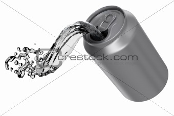 Can pouring fluid