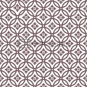 Circle seamless pattern