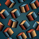 Falling cubes tile