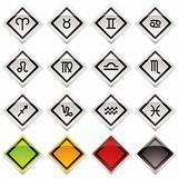 horoscope icon symbols