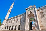 Entrance to the Blue Mosque in Istanbul