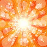 Sunny background. Vector.