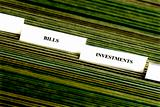 Investments Filing Tabs