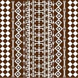 Background with African brown motives