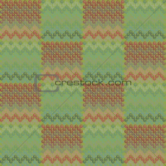 Background with ethnic textures with circles