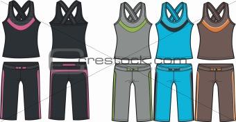 sporty fashion wear