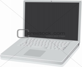 aluminum laptop computer