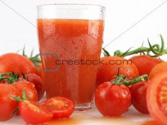 Tomatoes juice