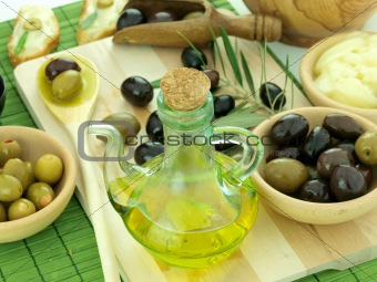 Olive and olive oil