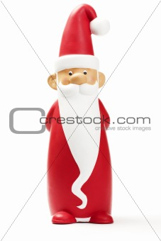 one slender santa claus figurine