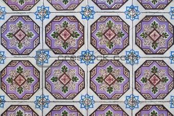 Portuguese glazed tiles 163