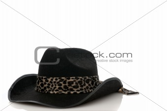 A Black cowboy hat