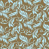Vector Feather and Floral Pattern