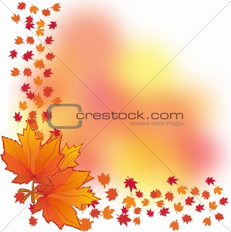 Autumn background, part 2