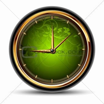 green clocks