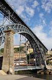Dom Luis I bridge over the Douro River in Oporto, Portugal
