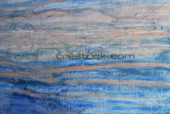 grunge blue aged wall texture background