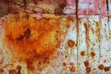 rusty grunge aged steel iron paint oxidized texture