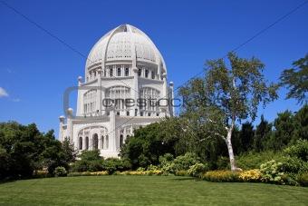 Beautiful Bahai Temple