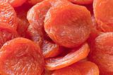 Dried apricots. Ecological food.