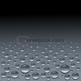 background with drops