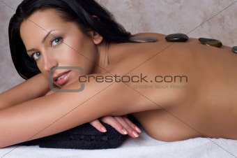 Beauty woman in spa