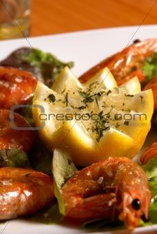 Shrimp tapa